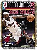 NBA Miami Heat Lebron James Acrylic MVP Tapestry, 48 x 60-Inch
