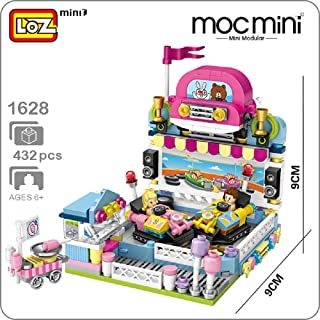 LOZ Mini Building Blocks Building Puzzles Street Toys for Kids&Adults Street Seriers in Shopping Building 3D Puzzles DIY Intelligence Educational Toys Games Models Kits Gifts(Bumper Car 1728)