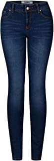 2LUV Women's 5 Pocket Ankle Stretch Skinny Jeans