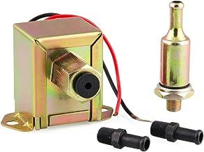 Nishore Bomba de combustível universal 12 V Faceta bomba de combustível elétrica com Unicons de combustível e filtro em li...
