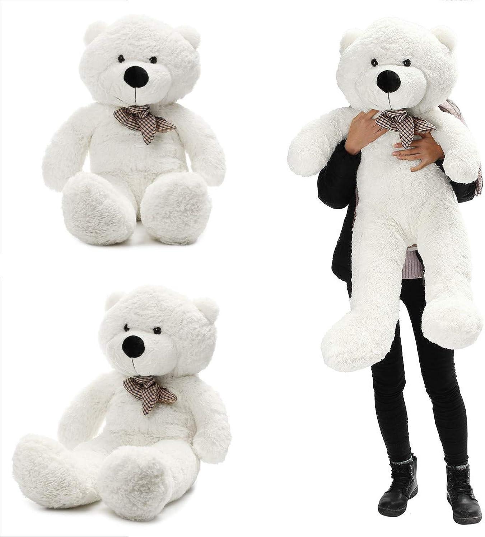 Teddybr Spielzeug, 140 cm   55 Zoll Halbfertig Riesen Groe Unstuffed Teddybr Haut Shell Skins Kid Baby Plüschtiere  andensoner