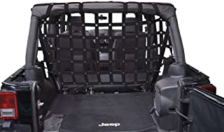 Cargo/Pet Full Divider - for Jeep JKU 4 Door - Black
