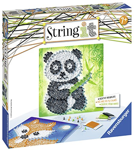 Ravensburger 18029 - String it Midi: Panda & Fox