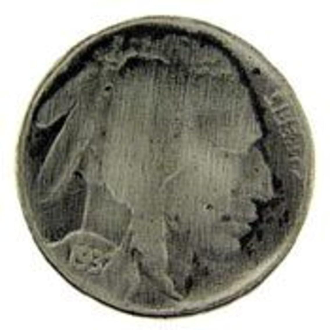 EagleEmblems P00699 Pin-Indian Head Nckl (1'')