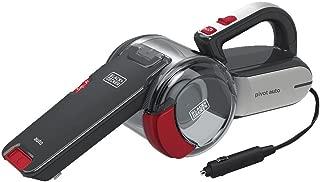 BLACK+DECKER Handheld Vacuum for Cars, Cordless, Pivoting, Black (BDH1200PVAV)