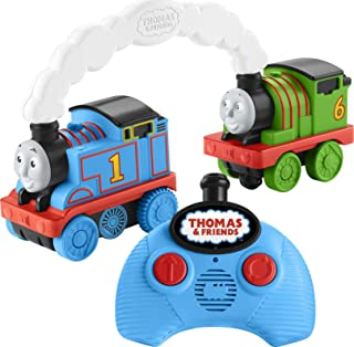 Fisher-Price Thomas & Friends Race & Chase R/C, remote controlled toy train engines for toddlers and preschool kids