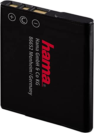 Hama Li Ion Akku Für Sony Np Bn1 Silber Kamera