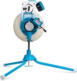 Jugs BP1 Softball Only Pitching Machine — Throws softballs up to 70 mph from a Realistic delivery Height.
