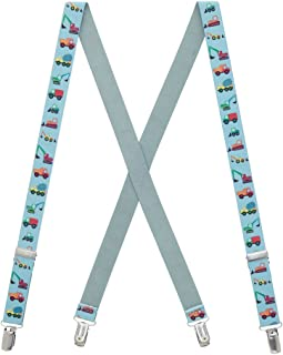 SuspenderStore Kids' Truck Suspenders (3 sizes)
