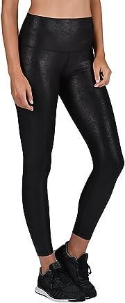 72520e61e2 Glyder High Power Legging Print: Black Foil Splatter