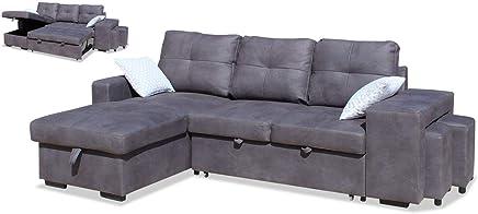 Amazon.es: sofa cama chaise longue: Hogar y cocina