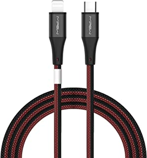 MIPOW Apple MFi Certified iPhone Cable, 1.5M(4.95ft) Lightning Data sync & PD Fast Charging Cable for iPhone Series S: 1.5...