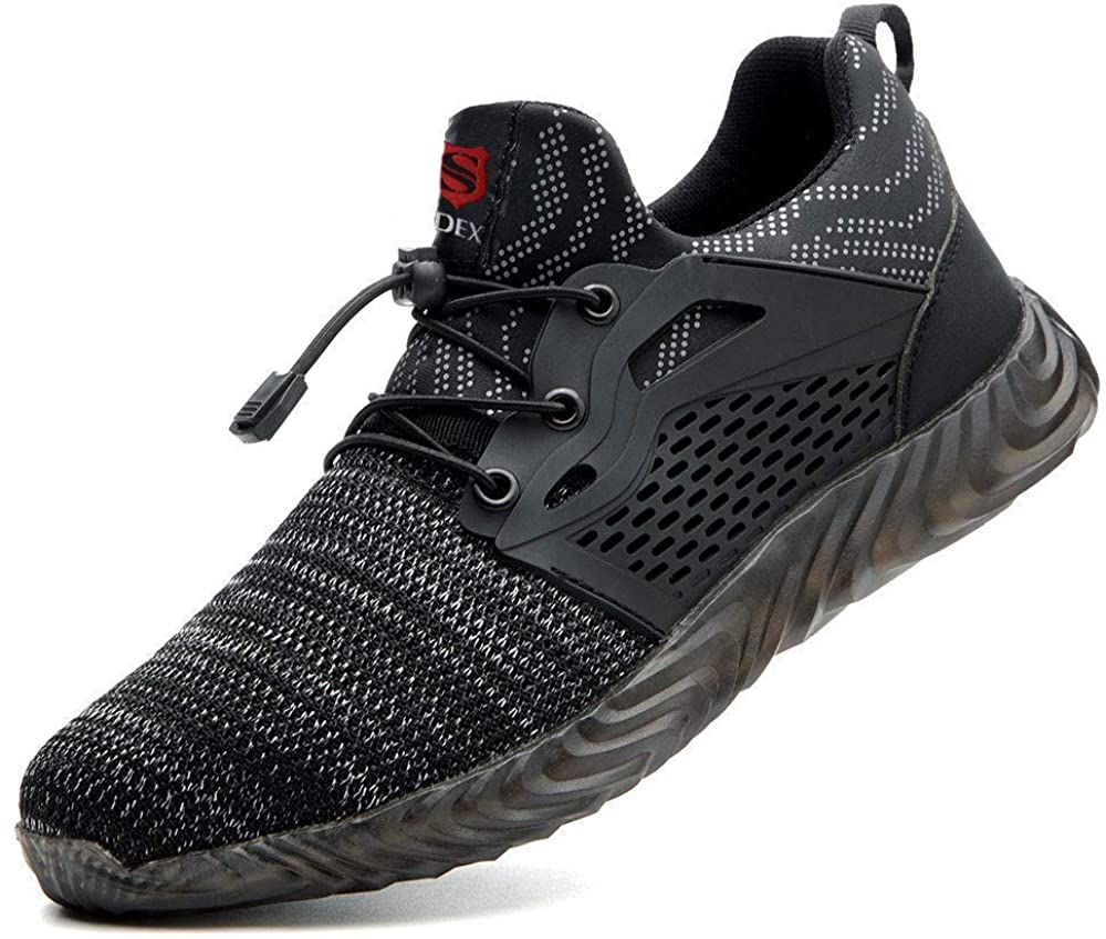 SUADEX Steel Toe Shoes Men Long Regular discount Beach Mall Women Sho Safety Indestructible Work