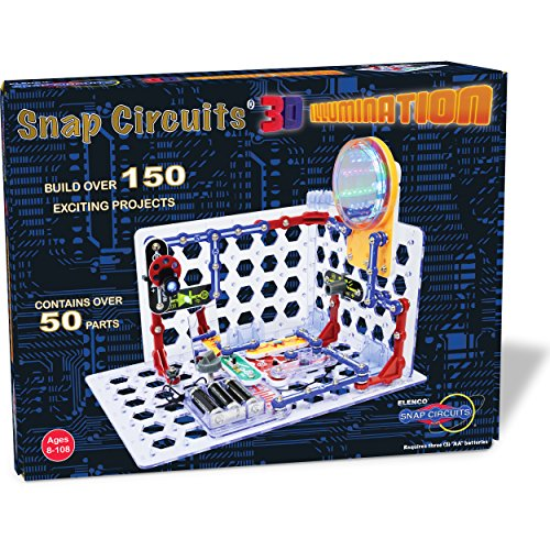 Product Image of the Snap Circuits 3D Illumination Electronics Exploration Kit | Over 150 STEM...