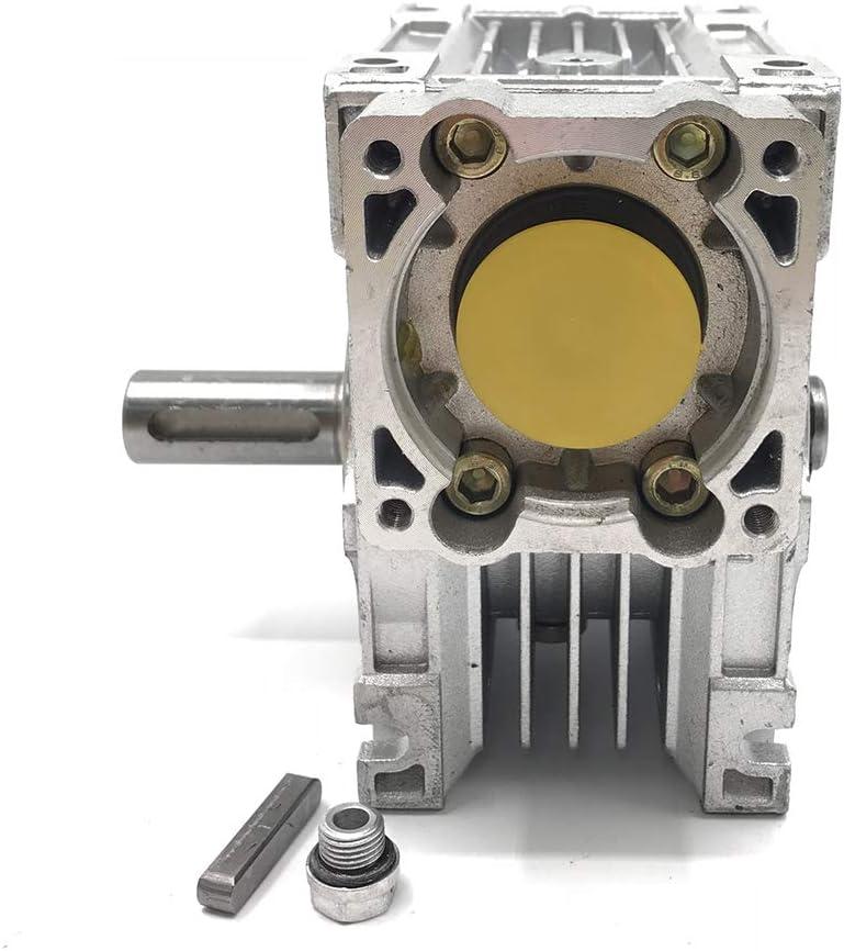 Worm Gear Speed Reducer NEMA34 Servo Stepper Gearbox Ratio 100:1