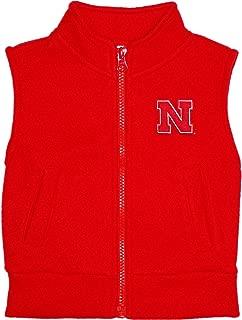 Creative Knitwear University of Nebraska Huskers Baby and Toddler Polar Fleece Vest