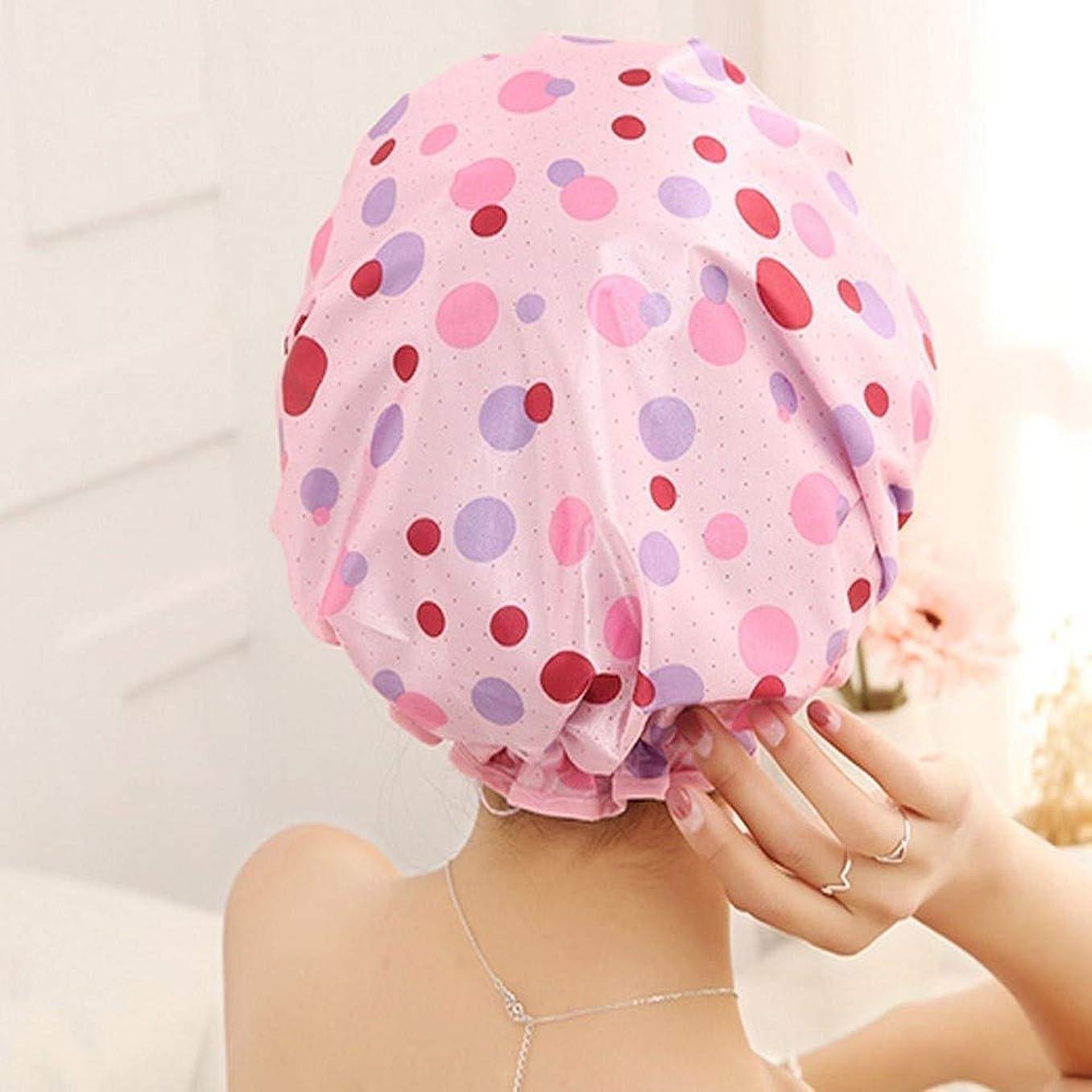 パイロット飛ぶ質量JIAOJIEB キャップシャワー、女性が女性のすべての髪の長さと厚さに適しキャップデラックスシャワーキャップシャワー - 耐性防水やカビ、再利用可能なシャワー。 シンプルで実用的な製品 (Color : 3)