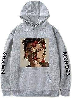 JJZHY Shawn Mendes Sweat /à Capuche en Velours Simple Plus Unisexe 5 Couleurs