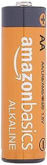 AmazonBasics AA 1.5 Volt Performance Alkaline Batteries - Pack of 48