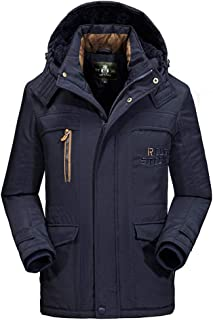 Fashion Men's Autumn Winter Coat WarmCasual Pocket Cotton-Padded Clothes Top
