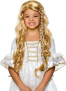 Rubie`s Glamorous Princess Child`s Costume Wig, Blonde