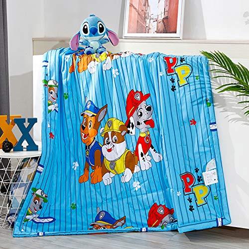Cartoon bed deken deken deken quilt beddengoed bed cover thuis stoel kinderen slaapkamer bed woonkamer auto slaapbank balkon kantoor