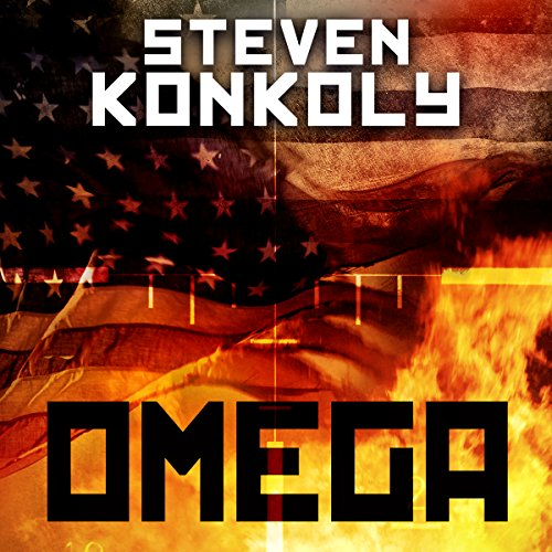 Black Flagged Omega audiobook cover art