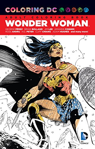 Coloring DC Wonder Woman TP Colouring Books