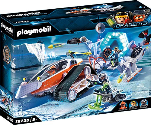 PLAYMOBIL Top Agents 70230 Spy Team Comando