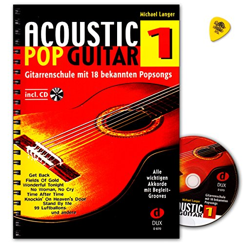 Acoustic Pop Gitar Band 1 met CD en plek - Edition Dux DUX870 9783934958128