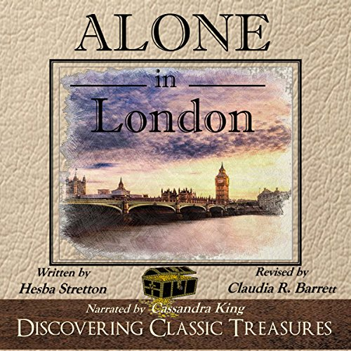 Alone in London - Annotated audiobook cover art