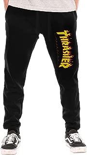 Flame Men's Basic Long Pants Sweatpants