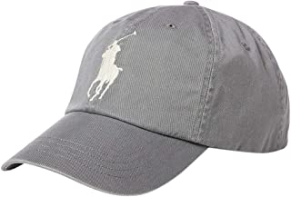 87751a90883 Polo Ralph Lauren Men`s Leather Strap Embroidered Chino Baseball Cap