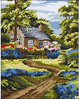 Anchor MR841 Tapestry-Spring Scene, Multi-Colour, 20 x 25cm