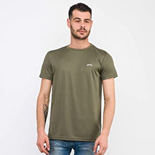 Slazenger ORA Erkek T-Shirt Haki