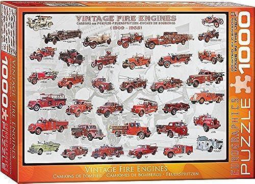 mejor calidad EuroGraphics Vintage Fire Engines 1000 Piece Puzzle by by by EuroGraphics  Mercancía de alta calidad y servicio conveniente y honesto.