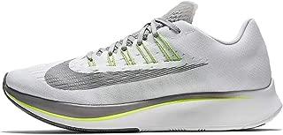 Nike Men's Zoom Fly Running Shoes (12 M US, White/Gunsmoke/Atmospere Grey)