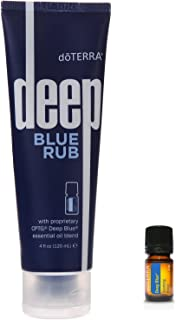 Deep Blue Sore Muscle Rub & Soothing Essential Oil Blend 2 Piece Set