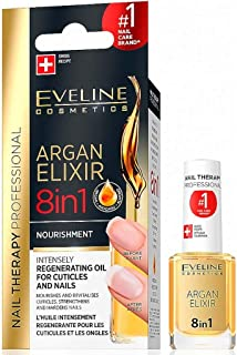 Eveline Argan Elixir 8 in 1 Intensely Regenerating Oil- 12Ml