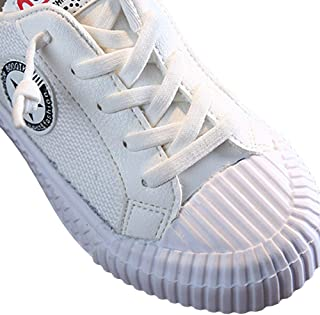 Hopscotch Boys and Girls Canvas Sneakers in Beige Color