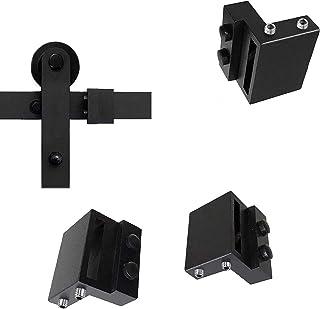 2PCS Barn Door Stopper for Sliding Barn Door Flat Track, Perfect Sliding Barn Door Hardware Accessories