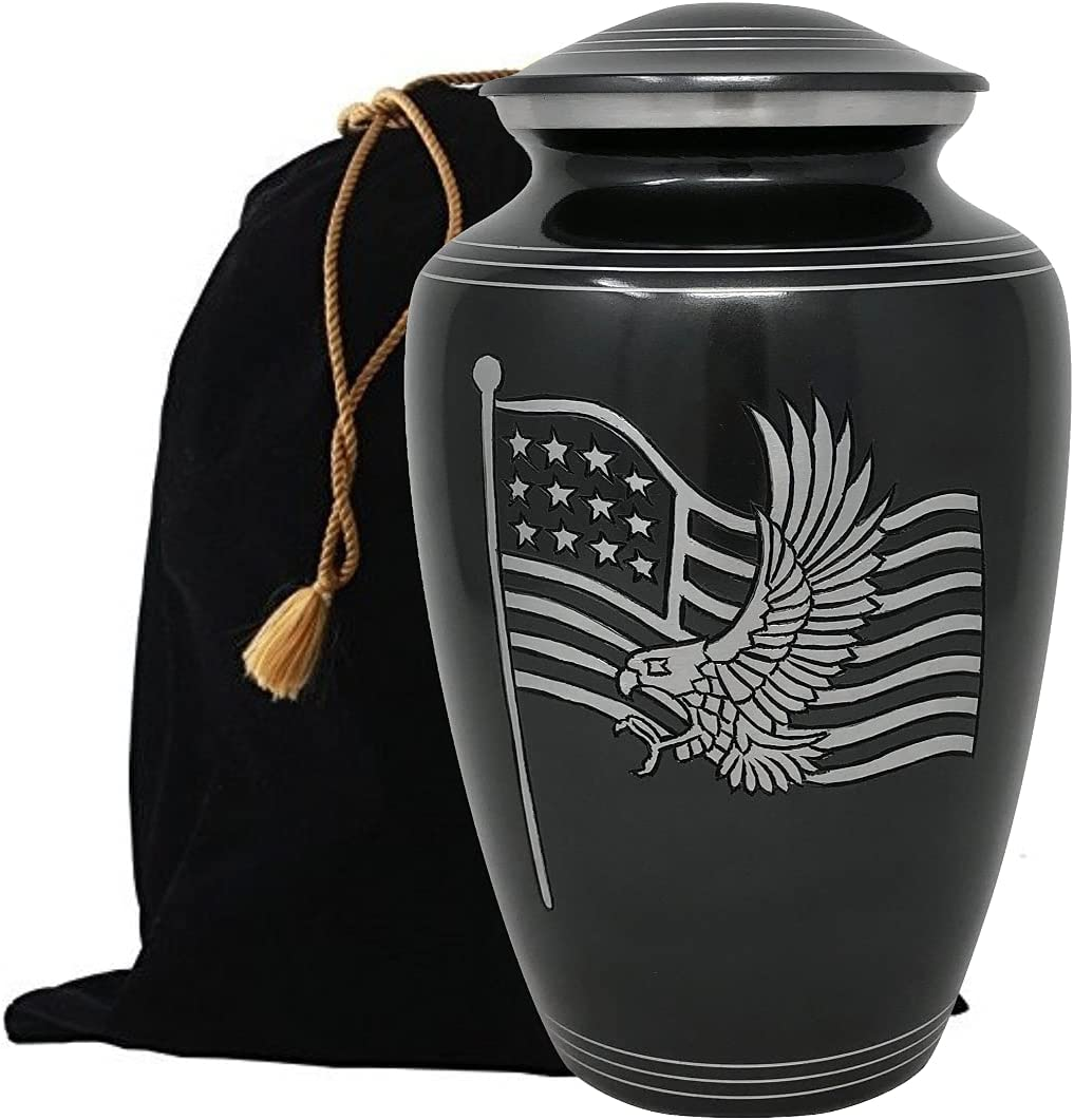 Ranking TOP18 American Honor service and Glory Cremation Handcrafted fo Urn Metal
