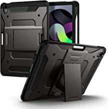 Spigen Tough Armor Pro Designed for iPad Air 4th Generation 10.9 Inch Case with Pencil Holder (2020) - Gunmetal