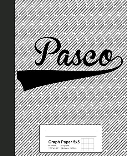 Graph Paper 5x5: PASCO Notebook (Weezag Graph Paper 5x5 Notebook)
