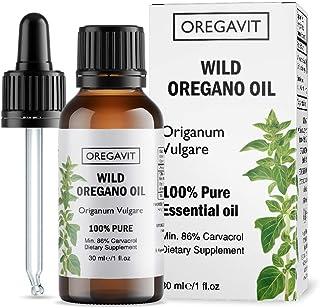 100% Pure Wild Greek Oregano Oil Food Grade Quality. Certified. (1 FL.OZ/30ML)