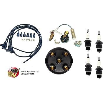 Tisco MTK5BIR /& 352951R91 Tune Up Kit /& Ignition Wire Set
