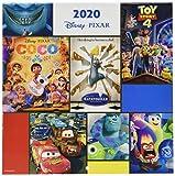 ERIK - Calendario de pared 2020 Pixar Movies, 30 x 30 cm