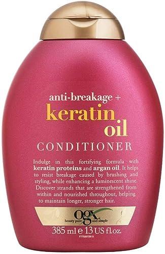 Condicionador Keratin Oil, OGX, 385 ml