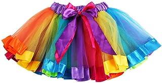 Ksnnrsng Femmes Adolescents Ados Tutu Jupes D/éguisements Ballet Jupon F/ête sous-Jupes pour Le Soir Costume De No/ël Halloween