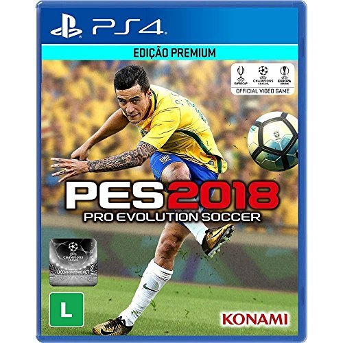 PES 2018 - Padrão - PlayStation 4